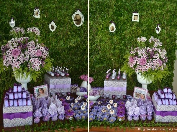 decoracao festa violeta: Violetta (Disney). Utilizando várias tonalidades da cor violeta